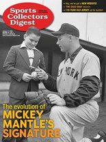 Sports Collectors Digest   1/2020 Cover