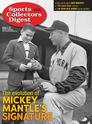 Sports Collectors Digest | 1/17/2020 Cover