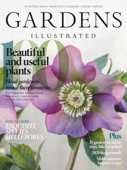 Gardens Illustrated Cover - 1/1/2020