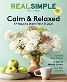 Real Simple Magazine 1/1/2020