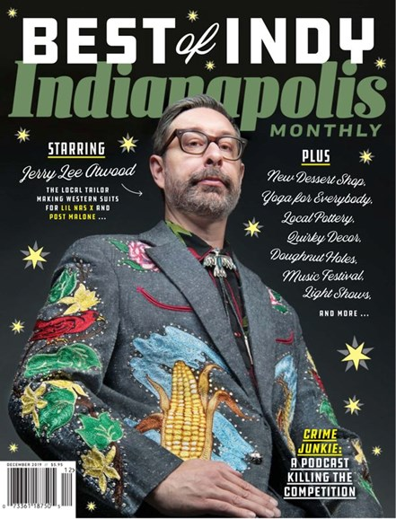 Indianapolis Monthly Cover - 12/1/2019