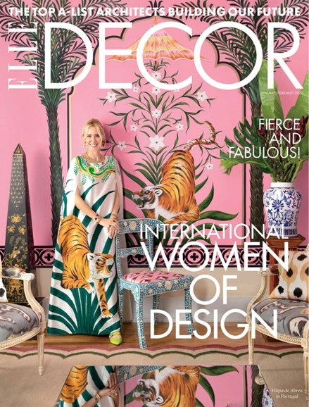 ELLE DECOR Cover - 1/1/2020