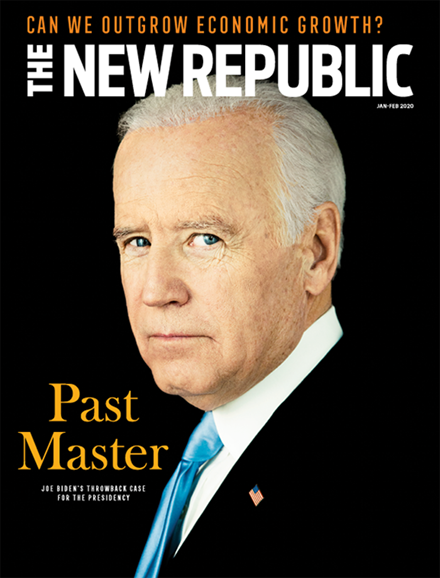The New Republic Cover - 1/1/2020