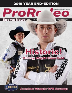Pro Rodeo Sports News Magazine | 12/2019 Cover