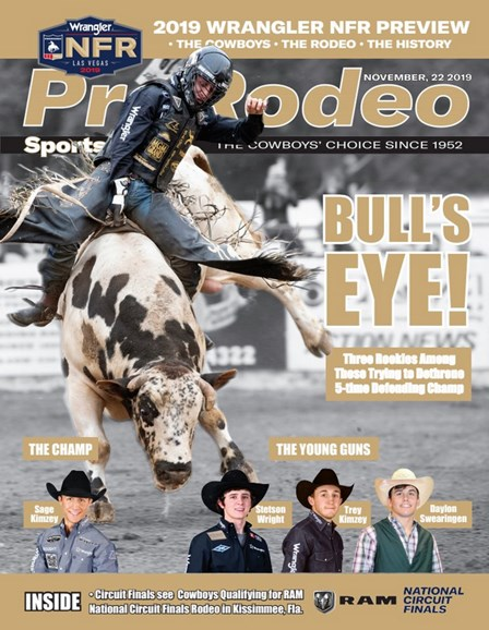 Pro Rodeo Sports News Cover - 11/22/2019