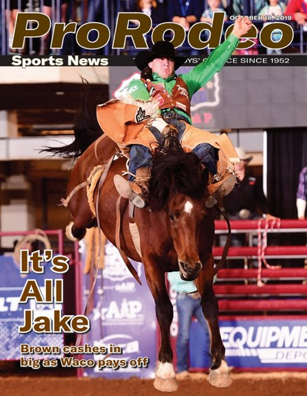 Pro Rodeo Sports News Cover - 10/18/2019