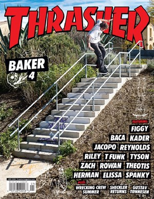 Thrasher Magazine | 1/2020 Cover