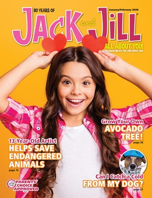 Jack And Jill Magazine | 1/2020 Cover