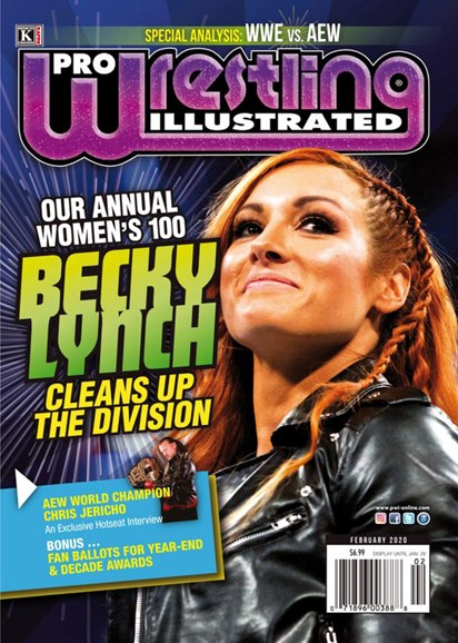 Pro Wrestling Illustrated Cover - 2/1/2020