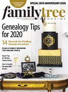Family Tree Magazine 1/1/2020