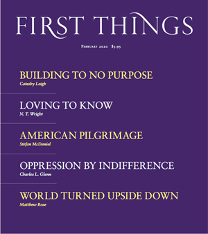 First Things Magazine   2/2020 Cover