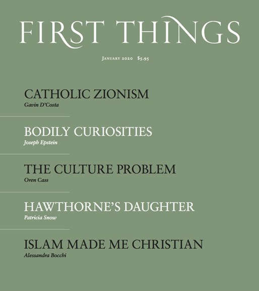 First Things Cover - 1/1/2020