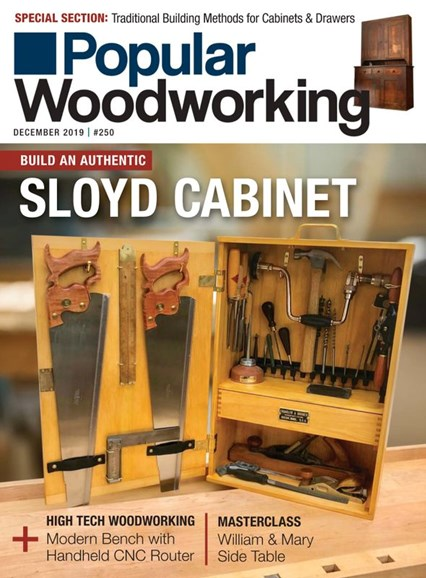 Popular Woodworking Cover - 12/1/2019