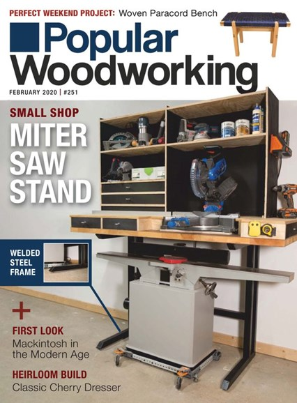Popular Woodworking Cover - 2/1/2020