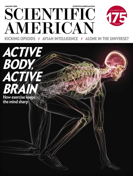 Scientific American Cover - 1/1/2020