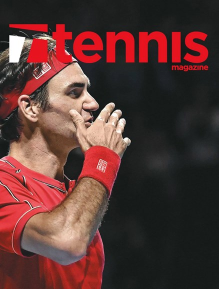 Tennis Magazine Cover - 1/1/2020