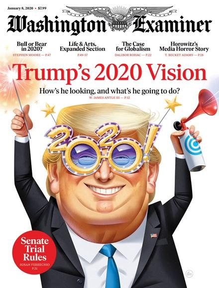 Washington Examiner Cover - 1/8/2020