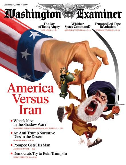 Washington Examiner Cover - 1/14/2020