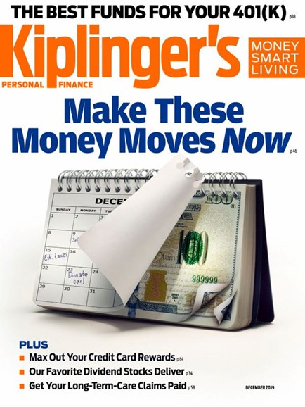 Kiplinger's Personal Finance Cover - 12/1/2019