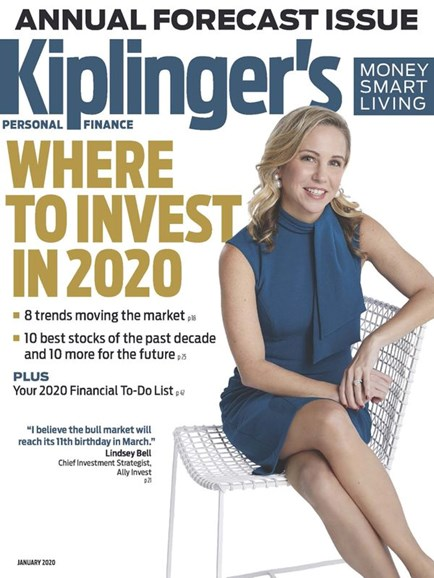 Kiplinger's Personal Finance Cover - 1/1/2020