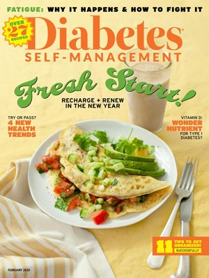 Diabetes Self Management Magazine | 2/2020 Cover