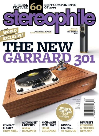 Stereophile Cover - 12/1/2019