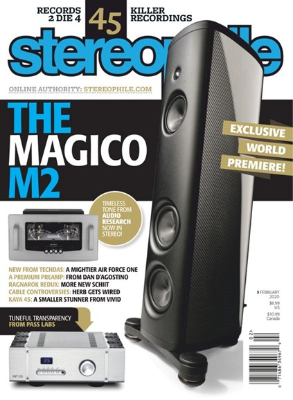 Stereophile Cover - 2/1/2020