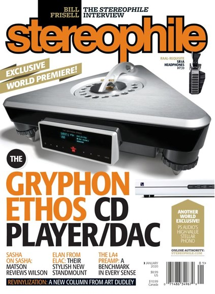 Stereophile Cover - 1/1/2020