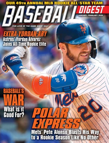 Baseball Digest Cover - 1/1/2020