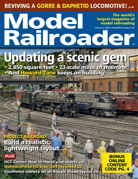 Model Railroader Cover - 2/1/2020