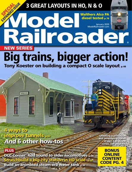 Model Railroader Cover - 1/1/2020
