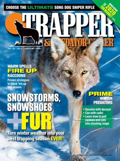 Trapper and Predator Caller Magazine | 1/2020 Cover