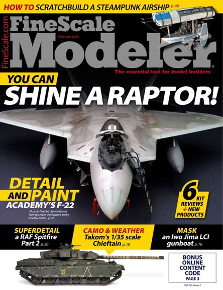Finescale Modeler Cover - 2/1/2020