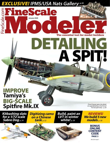 Finescale Modeler Cover - 1/1/2020