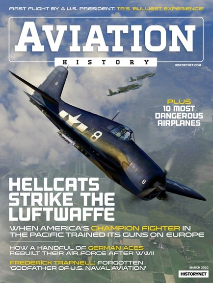 Aviation History Cover - 3/1/2020