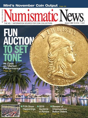 Numismatic News Magazine | 1/7/2020 Cover