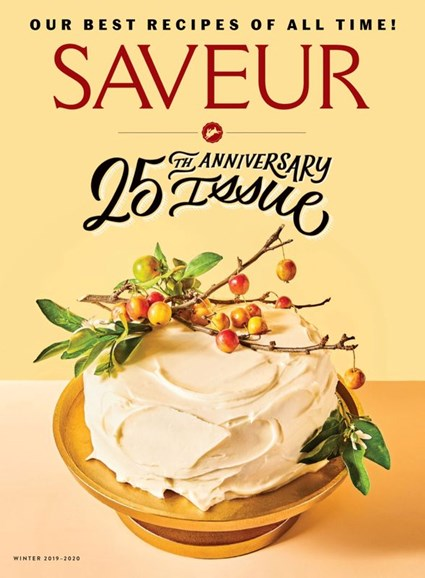 Saveur Cover - 12/1/2019