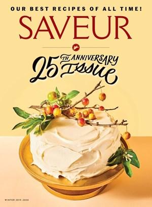 Saveur Magazine | 12/2019 Cover