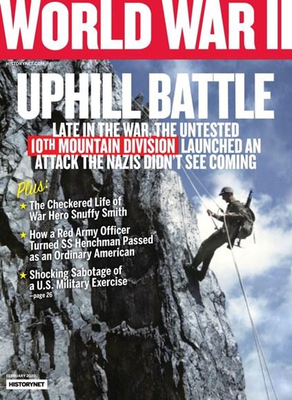 World War II Cover - 2/1/2020
