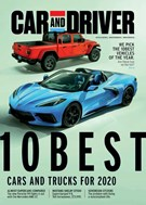 Car And Driver Magazine 1/1/2020