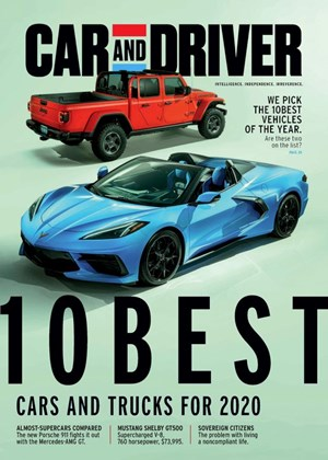 Car And Driver Magazine | 1/2020 Cover
