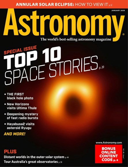 Astronomy Cover - 1/1/2020