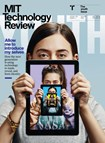 MIT Technology Review Magazine | 1/1/2020 Cover