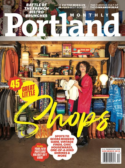 Portland Monthly Cover - 12/1/2019