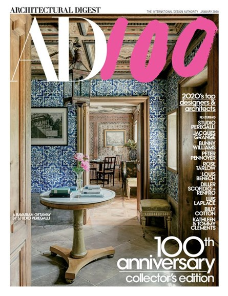 Architectural Digest Cover - 1/1/2020