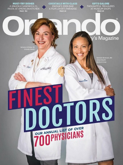 Orlando Magazine Cover - 12/1/2019