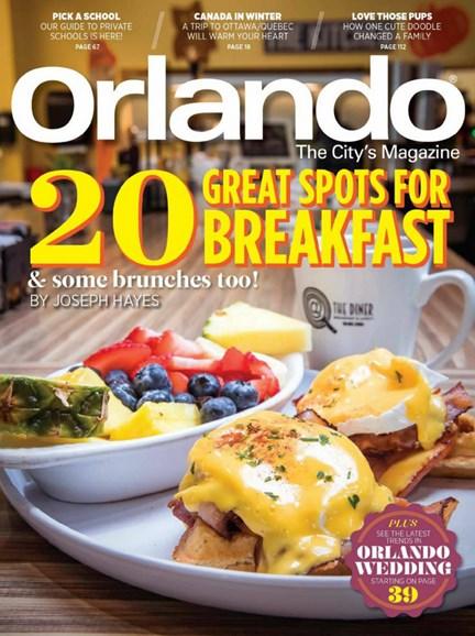 Orlando Magazine Cover - 1/1/2020