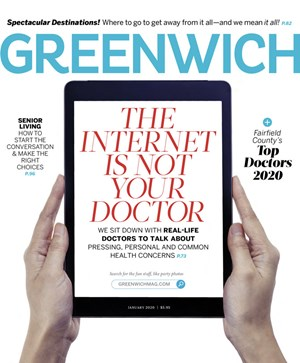 Greenwich Magazine | 1/2020 Cover