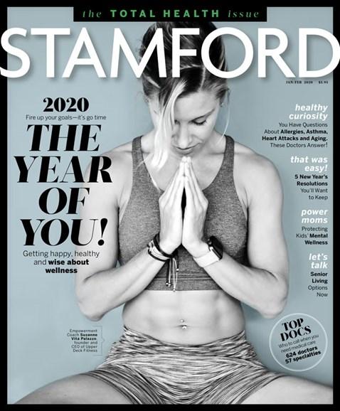 Stamford Magazine Cover - 1/1/2020