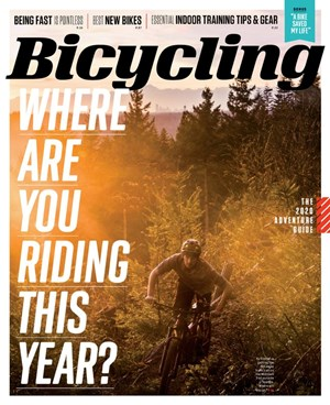 Bicycling Magazine | 1/2020 Cover